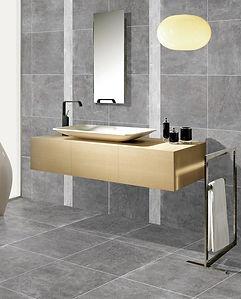 AMALFI - GREY 600x600 Bathroom floor & w