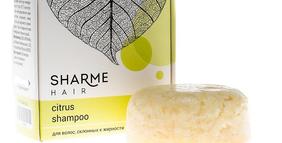 NATURAL HARD SHARME HAIR SHAMPOO CITRUS