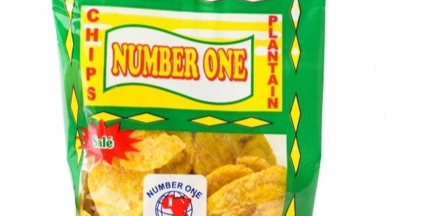 Number One Plantain Chips Salted