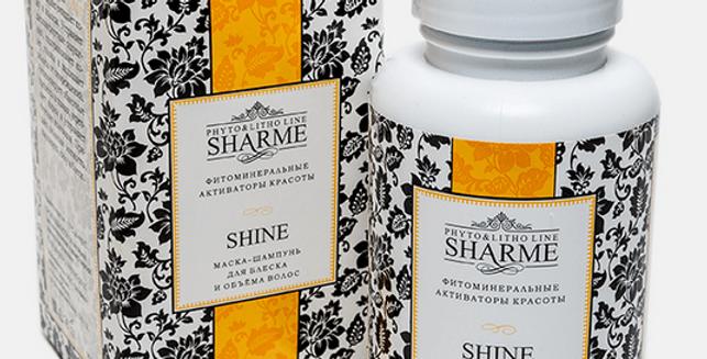 SHARME SHINE SHAMPOO MASK FOR SHINE AND VOLUME