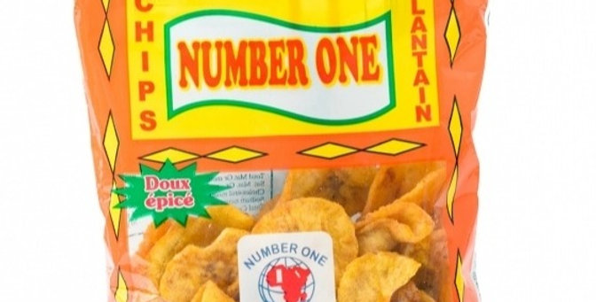 Number One Plantain Chips Spicy