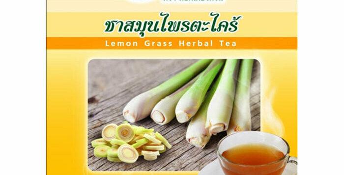 Dr. Green 100% Natural Organic Tea Lemongrass