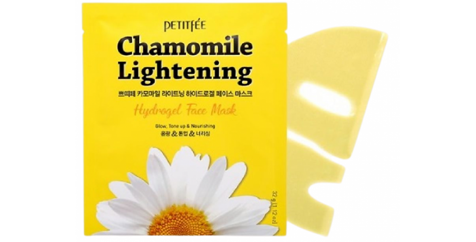 Petitfee Chamomile Lightening Hydrogel Mask