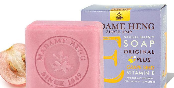 Madame Heng Natural Balance Soap - Grape Seed - Vitamin E