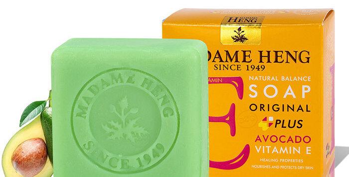 Madame Heng Natural Balance Soap - Avocado - Vitamin E