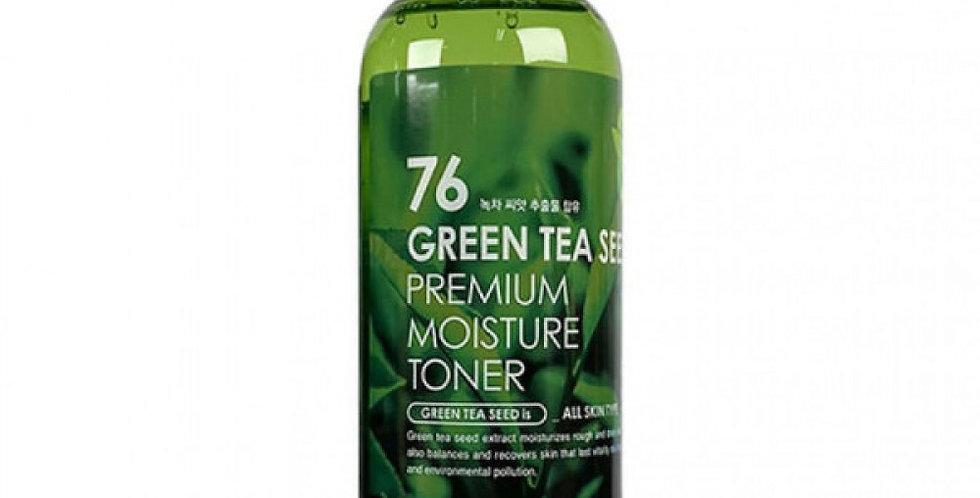 FARM STAY  Green Tea Seed Premium Moisture Toner
