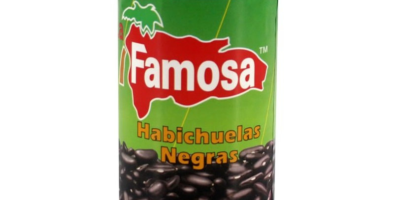 FAMOSA Habichuelas Negras