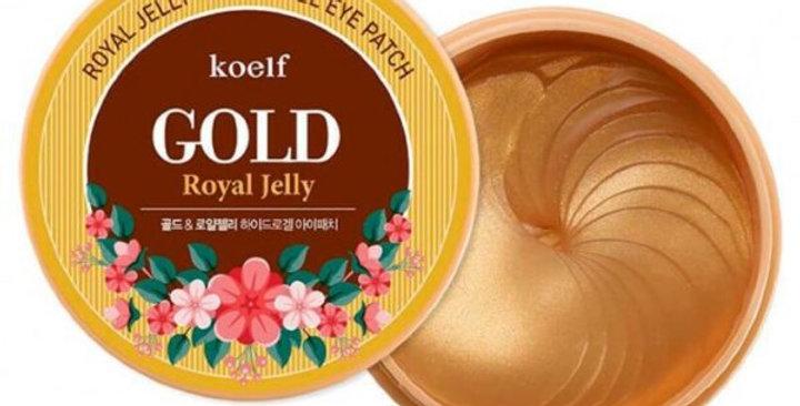 KOELF Gold & Royal Jelly Hydrogel Eye Patch
