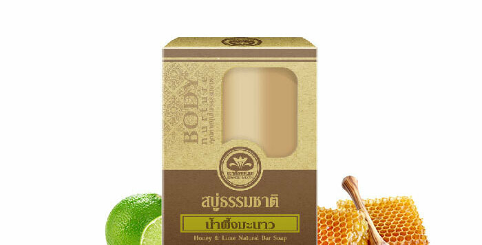 Khaokho Talaypu Honey & Lime Natural Organic Soap,Skin Renewal.