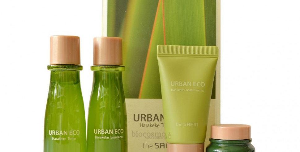 THE SAEM Urban Eco Harakeke Travel Kit