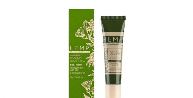 ANTI-AGE CREAM FOR EYES WITH HEMP OIL AND SILK PEPTIDES