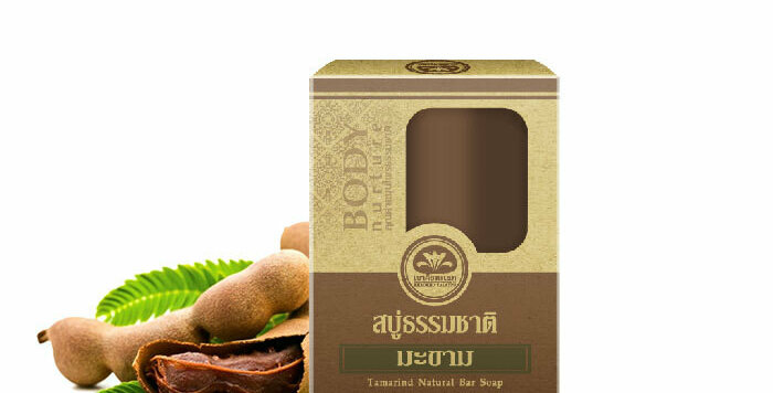 Khaokho Talaypu Tamarind Natural Organic Soap, Healthy Skin Radiance