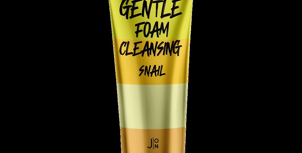 J:ON GENTLE FOAM CLEANSING SNAIL
