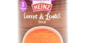 Heinz Carrot & Lentil Soup