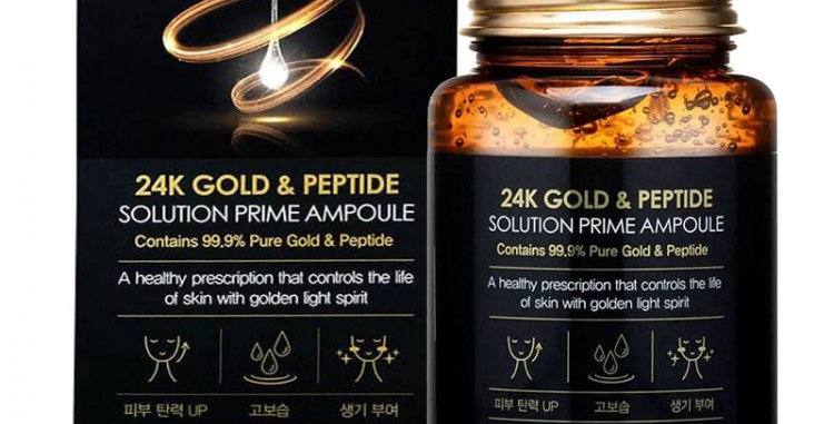 FARM STAY 24K Gold & Peptide Solution Prime Ampoule