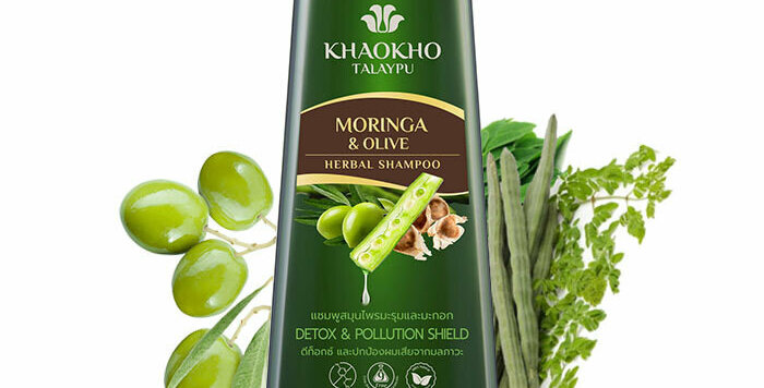 Khaokho Talaypu Moringa and Olives Shampoo. Detox
