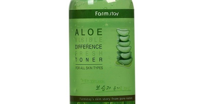 FARM STAY Visible Difference Fresh Toner Aloe