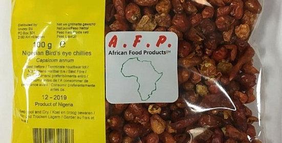 AFP Nigerian Bird`s eye chillies