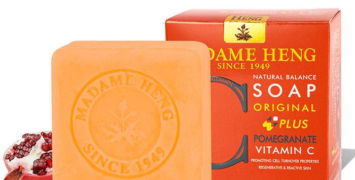 Madame Heng Natural Balance Soap - Pomegranate - Vitamin C