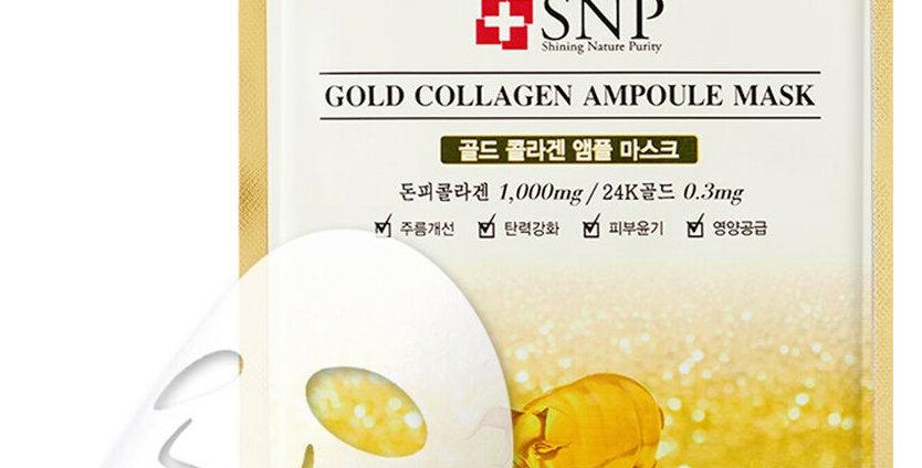 SNP GOLD COLLAGEN AMPOULE Face Mask