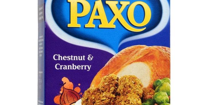 Paxo Chestnut & Cranberry