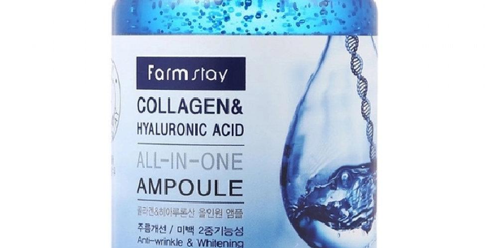 Farm Stay Collagen & Hyaluronic Acid All In One Ampoule