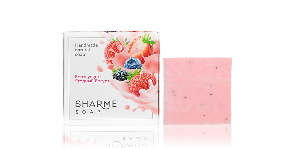 SHARME SOAP BERRY YOGURT