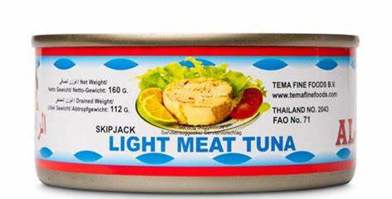 Al Raii, Skipjack, Normal Light Meat Tuna, Chunks