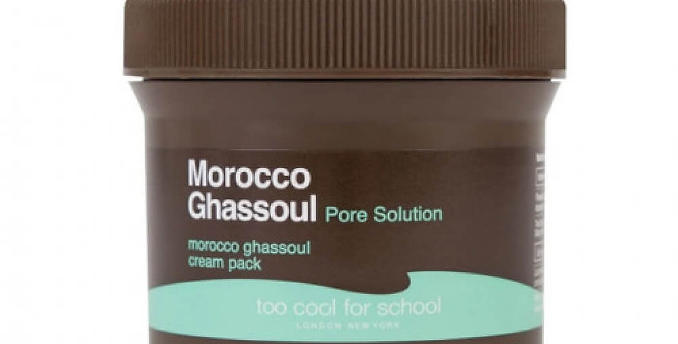 Too Cool For School Morocco Ghassoul Cream Pack Face Mask