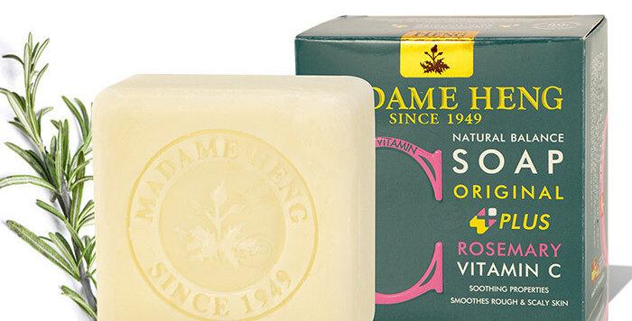 Madame Heng Natural Balance Soap - Rosemary - Vitamin C