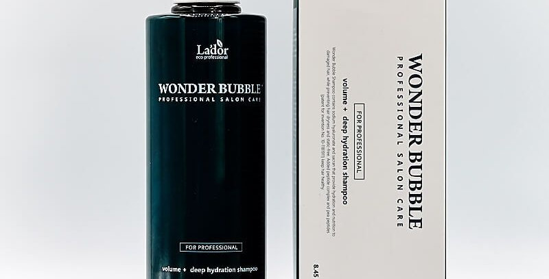 LADOR WONDER BUBBLE VOLUME + DEEP HYDRATION SHAMPOO