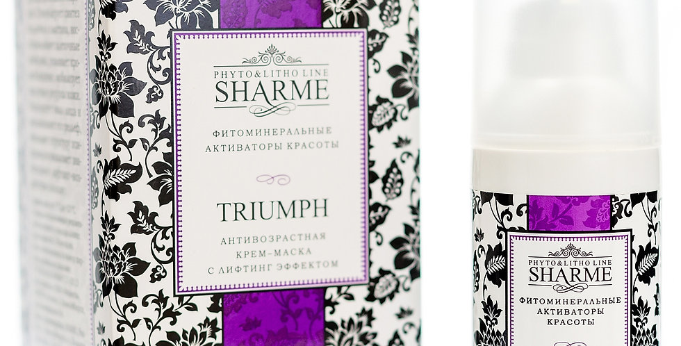 SHARME TRIUMPH ANTI-AGEING CREAM MASK WITH LIFTING EFFECT
