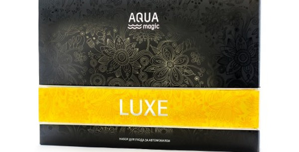 SET OF AQUAMAGIC LUXE FOR THE CAR