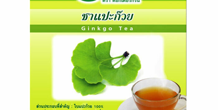 Dr. Green 100% Natural Organic Tea Ginkgo Biloba