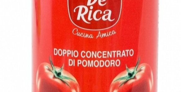 De Rica Tomato Paste, double concentrated