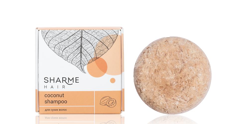 NATURAL HARD SHARME HAIR SHAMPOO COCONUT
