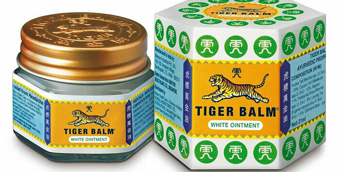 Haw Par Tiger Balm White Ointment , Cooling
