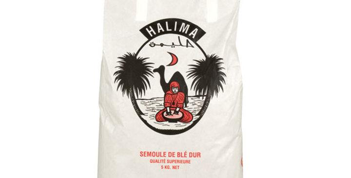 Halima Semolina of Wheat Medium