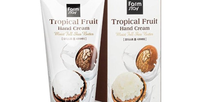 FarmStay Tropical Fruit Hand Cream with Shea Butter