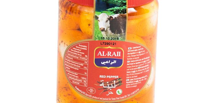 Al Raii, Labneh Spicy, Jars, Cheese,