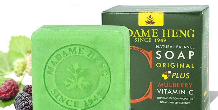 Madame Heng Natural Balance Soap - Mulberry - Vitamin C
