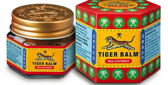 Haw Par Tiger Balm Red Ointment,Warming