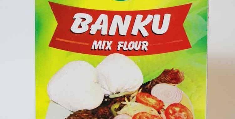 Home Fresh Food Banku Mix Flour