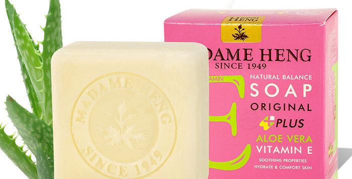 Madame Heng Natural Balance Soap - Aloe Vera - Vitamin E