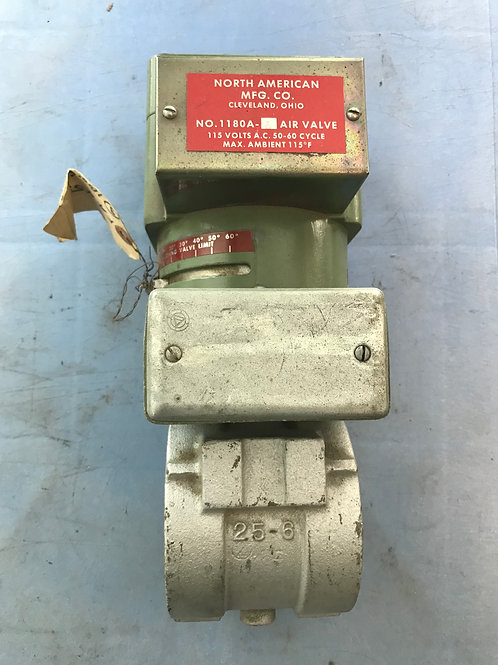 North American Manufacturing Servo and valve