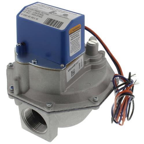 HONEYWELL Diaphragm Gas Valve, Two Stage Pressure Regulating, Slow Opening