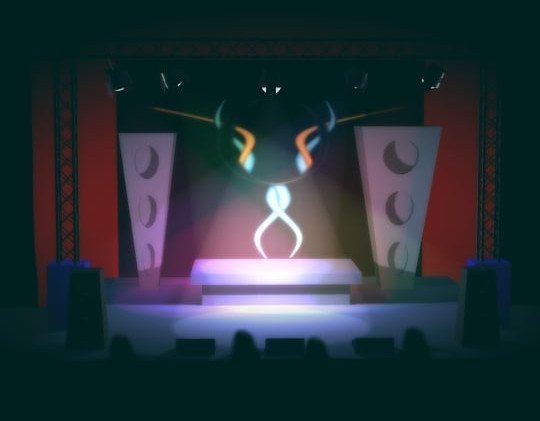 3D Stage By Animasai.