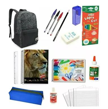 Kit Material Escolar Completo