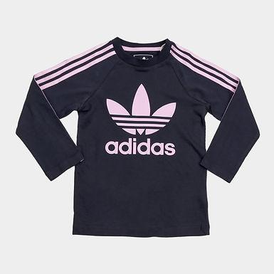 Camiseta Infantil Adidas 3 Stripes