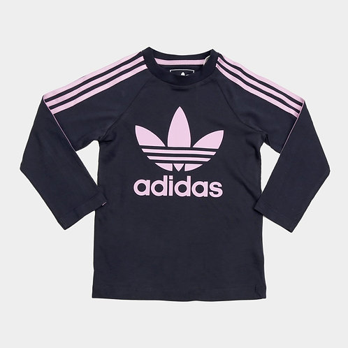 Camiseta Infantil Adidas 3 Stripes